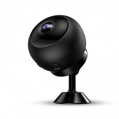 Voll hd wide angle spy kamera nacht vision bewegungserkennung