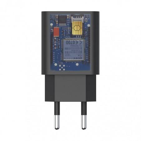 Micro surveillance gsm-ladegerät mit batterie bis zu 3 tagen im standby