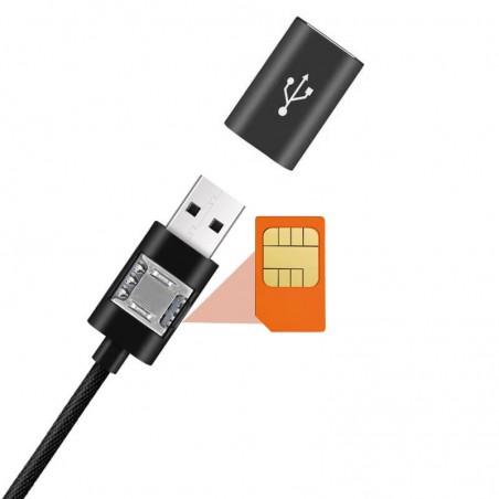 GSM kabel fernhören mit LBS standort